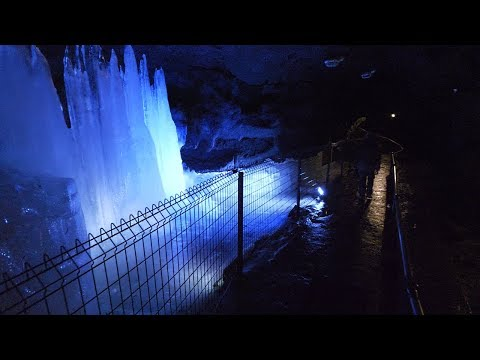 【4K】Aokigahara Ice caves