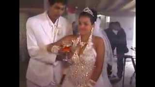 Пироэффекты на свадьбе в Румынии