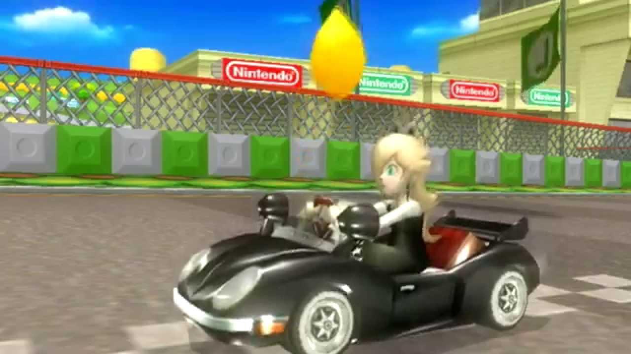 Biker Peach Daisy Rosalina Texture Hack Mario Kart Wii