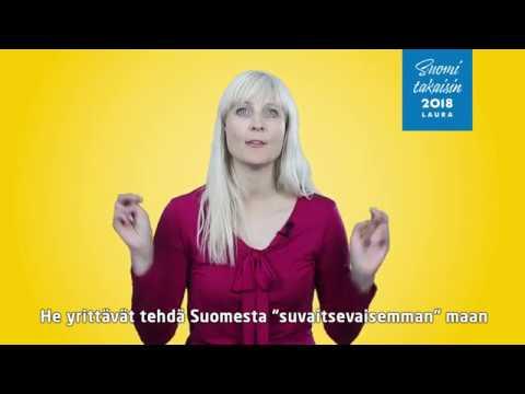 Laura Huhtasaari 17.1. - YouTube