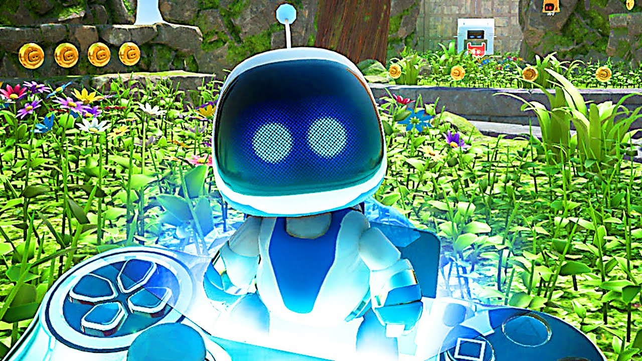 Astro Bot Rescue Mission Gameplay Trailer 2018 Ps Vr Youtube