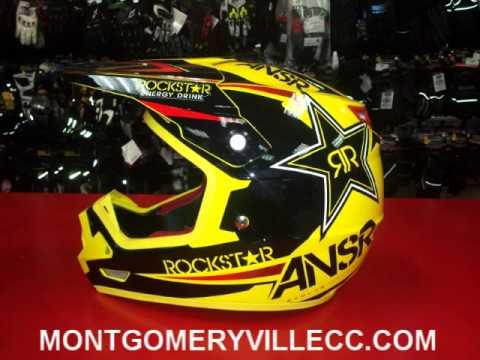 2014 Ansr RockStar Helmet VI