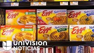 Retiran 10,000 cajas de waffles contaminados con listeria