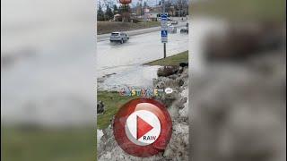 RAW: Flooding near Highway 97 and Gellatly Road