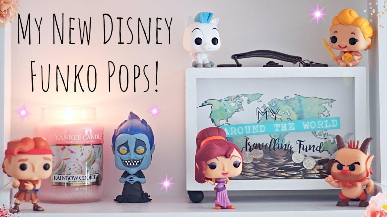 My new Disney Funko Pops! (June 2018)