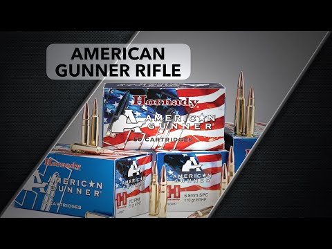 Hornady® American Gunner® Rifle Ammunition