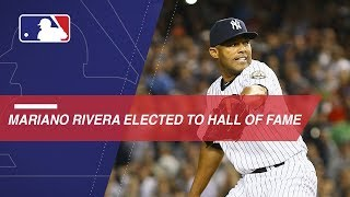 Mariano Rivera unanimously elected to Hall of Fame