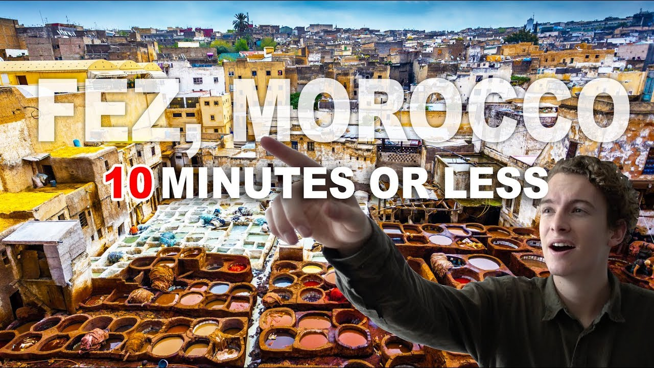 THE MOST UNDERRATED CITY IN THE WORLD - Fez, Morocco