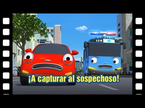 ¡A capturar al sospechoso! l Teatro de Tayo #32 l Tayo el pequeño Autobús Español