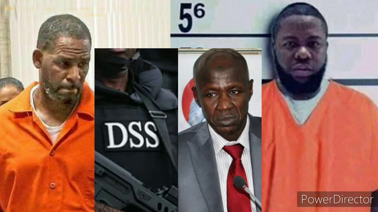 FACE OFF HUSHPUPPI, R&B STAR R KELLY IN SAME JAIL, DRANA AS DSS GOT  EFCC BOSS MAGU ARRESTED