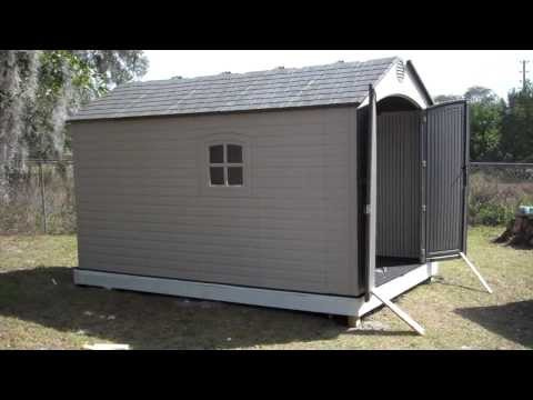 Orlando Handyman Installs Lifetime 8 X 125 Outdoor Storage Shed