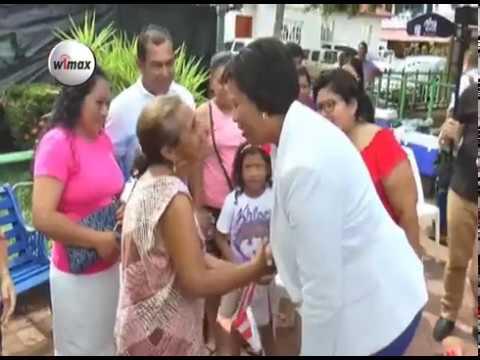 Alcaldesa de Washington, Muriel Bowser visitó Intipuca, La Unión