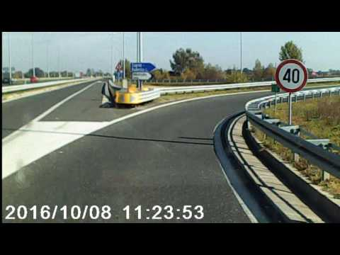"Police escort from A1 barricade ""Lučko"" to ""Rebro"" hospital Zagreb- Part 1"