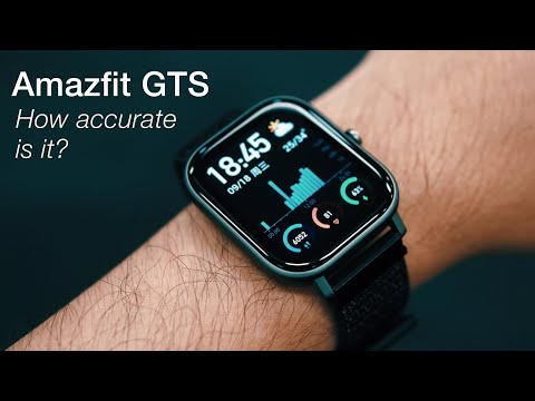 Amazfit GTS - Fitness Tracking Accuracy Test (Steps, Cycling, Heart Rate, Sleep)