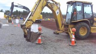 Backhoe Basketball at Big Toy Playground