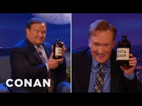 Conan Takes Truth Serum  - CONAN on TBS