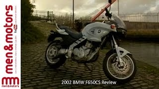 2002 BMW F650CS Review