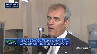 Gasoline cars have a future, OMV CEO says   Street Signs Europe