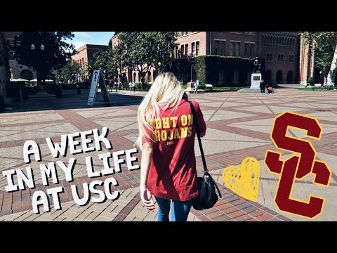 A Week in My Life: College Student at USC!