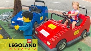 ВЛОГ #1 Едем в Леголенд РУМ ТУР комната с ПАУКАМИ Отель Лего Малайзия Lego city for children Vlog