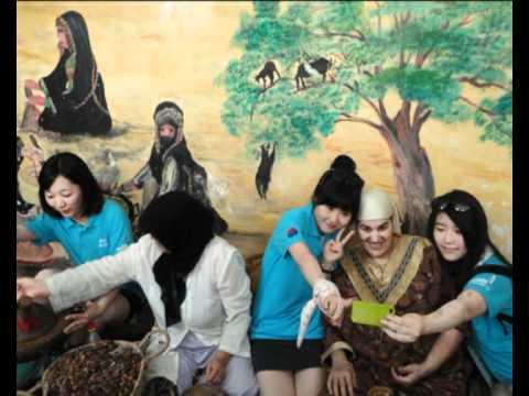 Echange culturel: Les jeunes coréens au Maroc