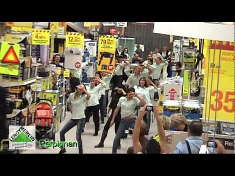 Flash mob leroy merlin perpignan youtube - Flash leroy merlin ...