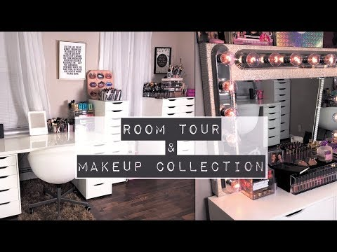 My Beauty Room Tour + Makeup Collection | MakeupbyDenise