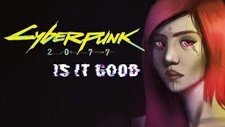 Will CYBERPUNK 2077 be GOOD? - Speedpaint
