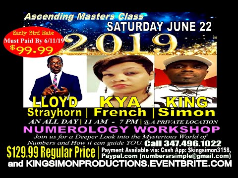 Numerology: Lloyd Strayhorn and King Simon Prepping for Upcoming