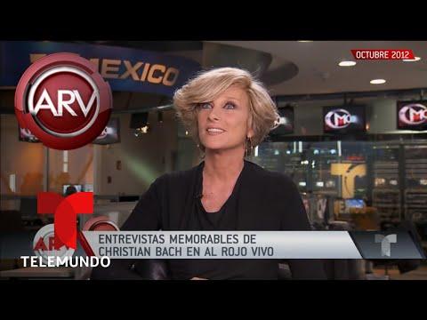 Revivimos una emotiva entrevista con Christian Bach | Al Rojo Vivo | Telemundo