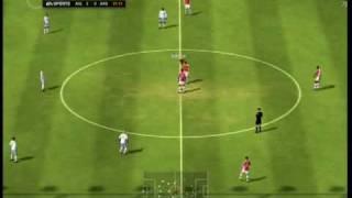 FIFA09アーセナルVSアストンヴィラ(Arsenal vs Aston Villa)。対戦相...