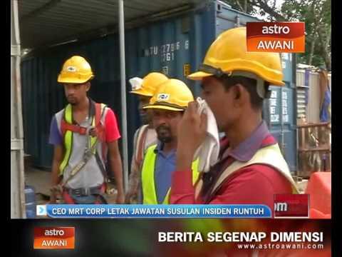 CEO MRT Corp letak jawatan