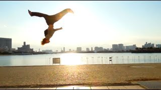 Zen X Yosshi ** The Japanese Ninja Style of Nowadays** Parkour X Breakdance