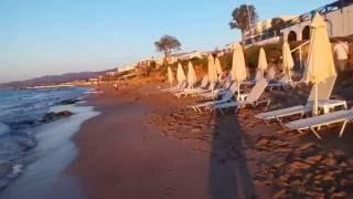 Пляжи Сталиды и Малии остров Крит/Beaches Stalida and Malia, Crete(Пляжи Сталиды и Малии имеют в основном песчаный вход. Конец мая не порадовал чистым берегом, оказалось мног..., 2016-06-09T06:56:58.000Z)