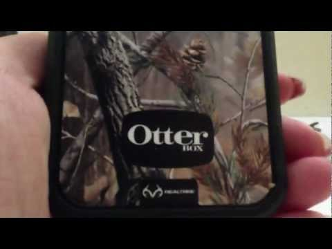 Unboxing Otterbox Defender Realtree Series Case for Iphone 5 (Orange and Camo) ♡