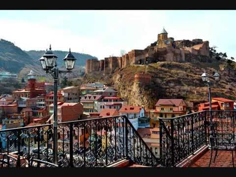 The beautiful capital of Georgia -Tbilisi (old part) / Столица Грузии-Тбилиси (старая часть)