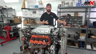 Hellcat Supercharger Adapter Kit by MMX - Basic Information