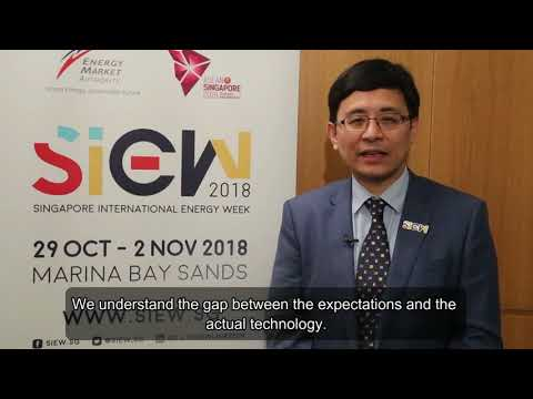 MD of Hann-Ocean Energy, Henry Han interviewed by SIEW at WFES 2018