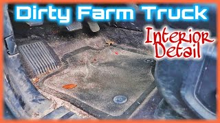 DIRTY FARM TRUCK FULL INTERIOR  DETAIL〡SAND FILLED INTERIOR