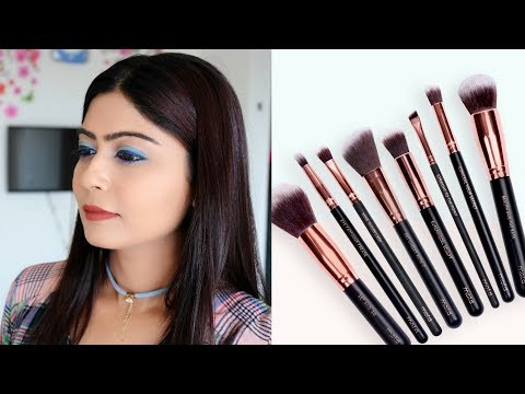 how to use makeup brushes for beginners | Rinkal Soni