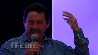 Peter Cullen explains how he created the voice for Optimus Prime