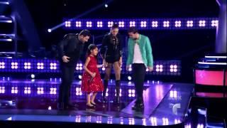 """Janina Flores canta """"Baila esta Cumbia"""" en La Voz Kids"""