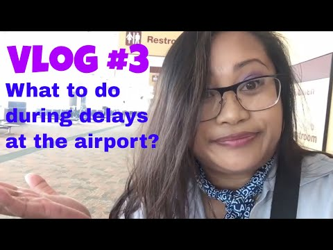 DELAYS, DELAYS, DELAYS | Vlog#3 | Flight Attendant Life