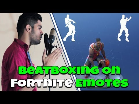 Beatboxing Fortnite Dances & Emotes | AYJ BEATBOX