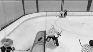 NHL 08 own goal