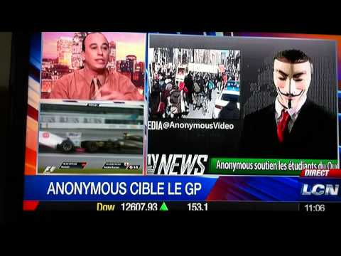 J-F Thivierge en entrevue avec Richard Martineau on parle d'Anonymous (29-05-2012)