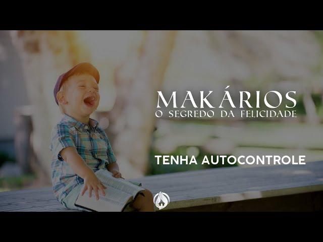 TENHA AUTOCONTROLE - Dsa. Sara Brito