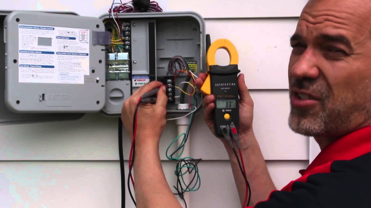How To Check Sprinkler Wire Cable And Solenoids For Proper Loop Wiring Valve Box Resistance Operations