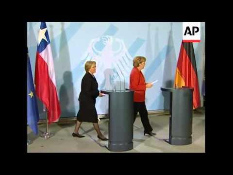 Chilean President meets Chancellor Merkel
