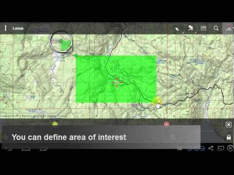 Downloading US offline topo maps to Locus Map - YouTube